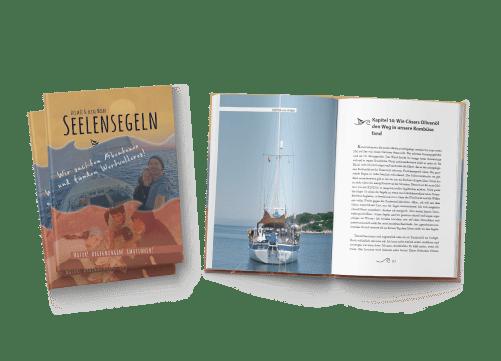 semera GmbH Webagentur Buchcover Buchsatz Seelensegeln